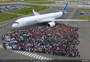 Airbus A350 будет совершать ежедневные рейсы из Катара во Франкфурт