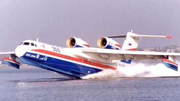 Бе-200ЧС будет тушить пожары в открытом море
