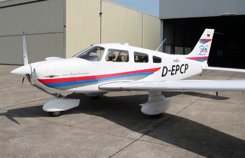 Piper Aircraft поставила первый Archer DX в Европу