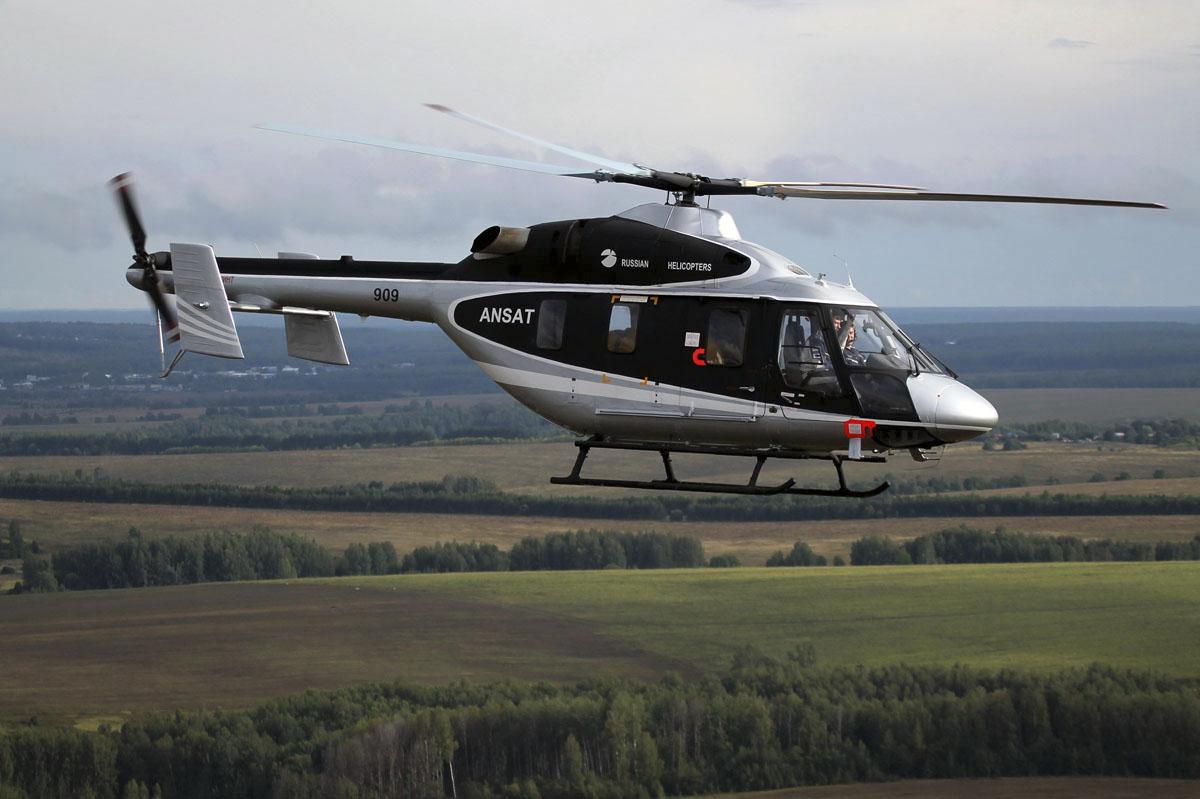 Популярные классы вертолетов российского производства