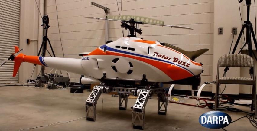 Автоматизированная система шасси от DARPA