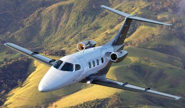 Phenom 100E признали лучшим самолетом для летной подотовки