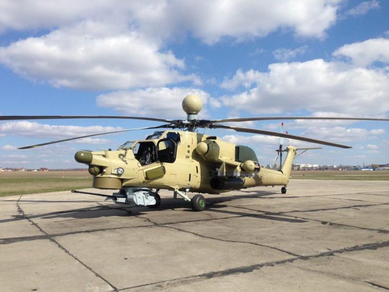 Ми-28НЭ с двойным управлением пошел в серию