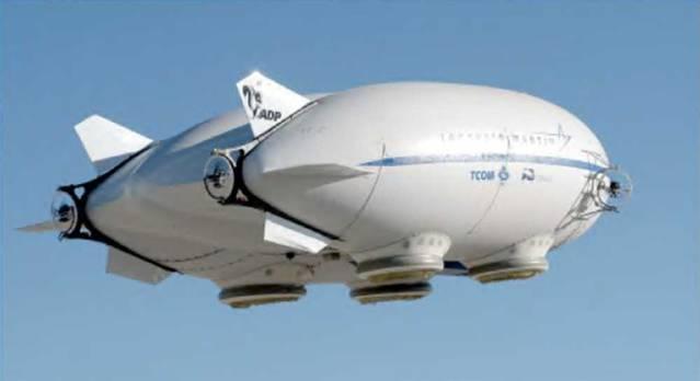 Straighline Aviation получит первые 12 гибридных дирижаблей
