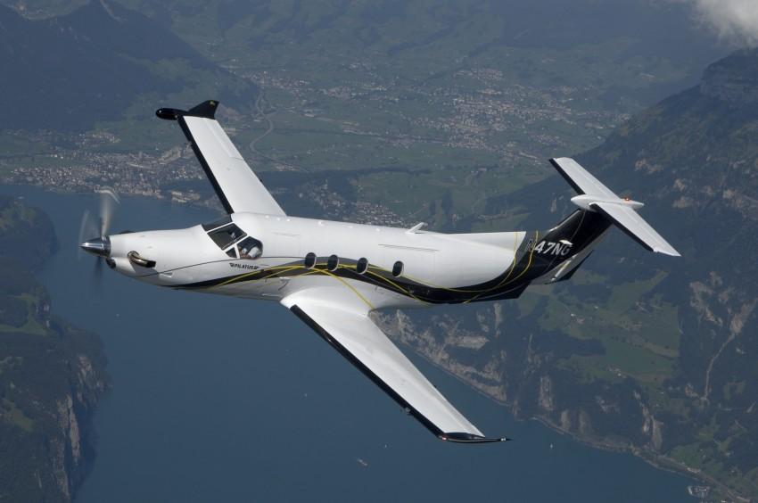 Авиатакси PC-12NG для стран Персидского Залива