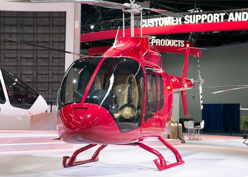 30 Bell 505 придут на службу в такси Индонезии