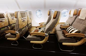 Etihad Airways – лучшая в предоставлении инновационных IFEC-услуг