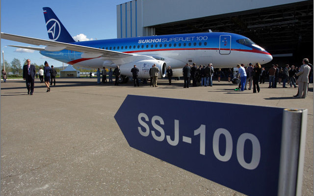 Leonardo-Finmeccanica выходит из проекта SSJ 100
