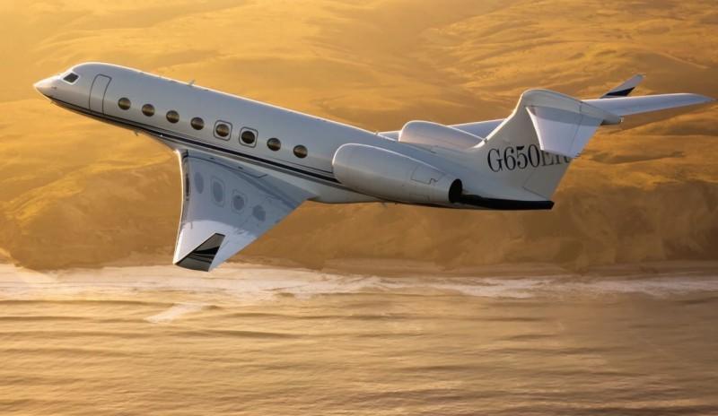 Бизнес-джеты могут летать через Северный Полюс