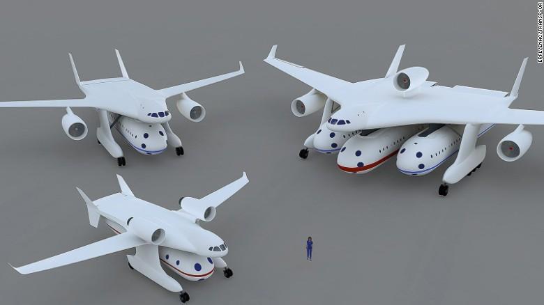 Вместо самолетов - гондолоплан
