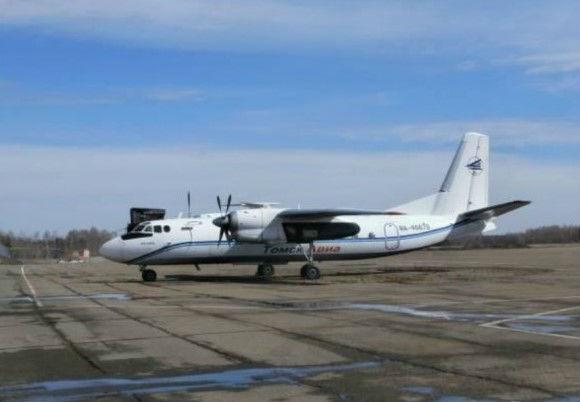 Самолёт ан 24рв RA-46679