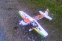 Радиоуправляемые самолёт Extra 300 hibbisky
