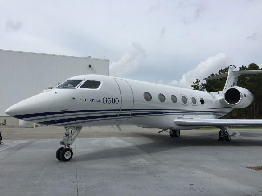 Начались испытания G500 с пассажирским салоном