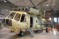 Вертолет МИ-17-1П после капитального ремонта.