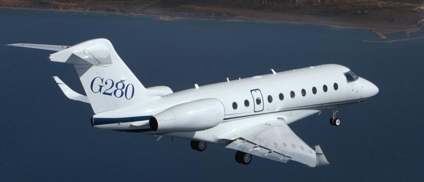 G280 пролетел 4000 миль
