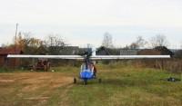 Двухместный самолет Пилигрим